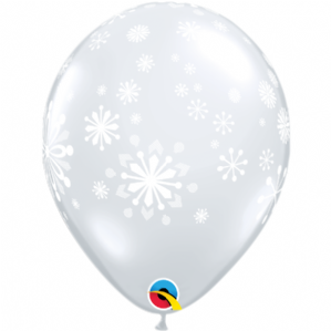 Contemporary Snowflake Balloons - Winter & Christmas Balloons